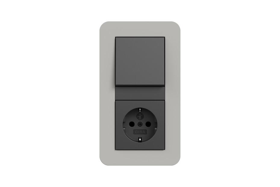E3 push switch / socket