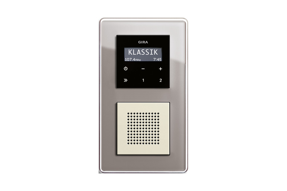 Esprit RDS flush-mounted radio