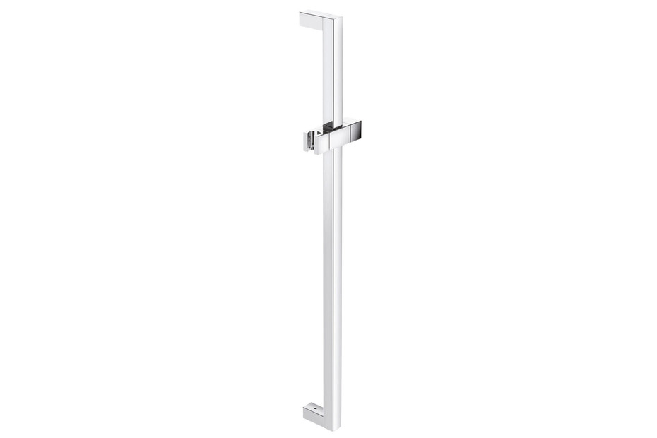 Rail with shower head holder chrome, c to c 1100 mm