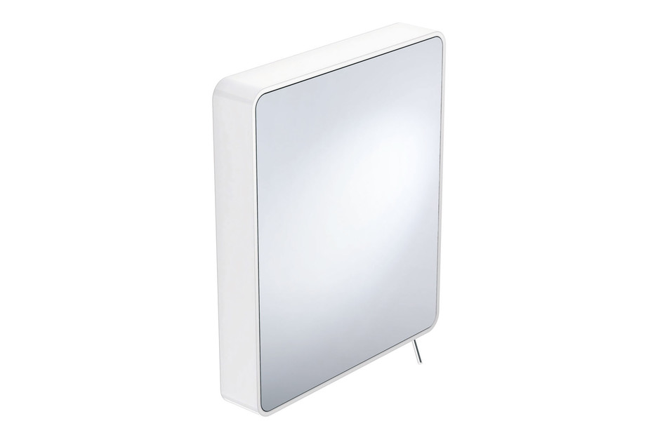 Adjustable mirror white