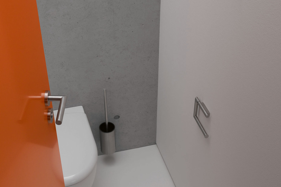 WC-Papierhalter 2-fach verchromt