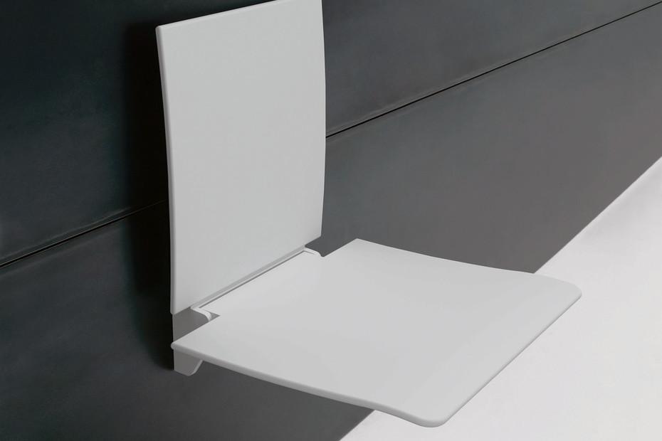 Einhängesitz Sitzfläche und Rückenlehne in Weiß