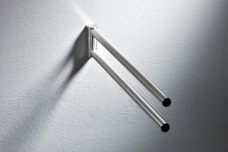Towel rail finish - chrome