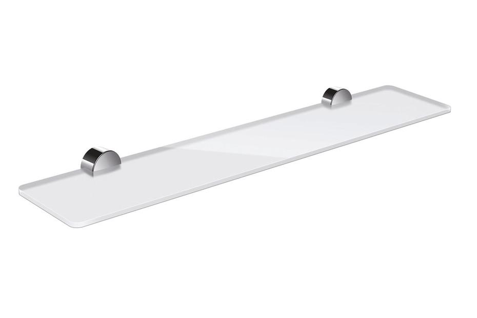 Shelf 600 mm wide, finish - chrome
