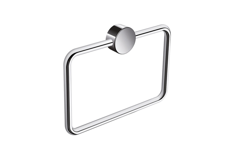 Towel ring finish - chrome