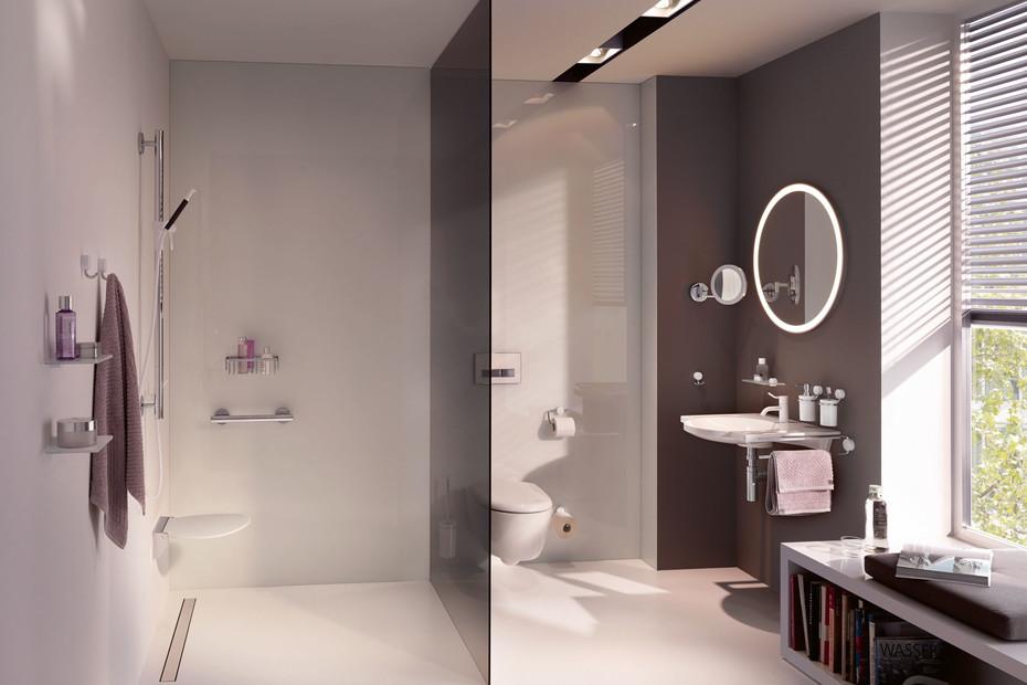WC-Papierhalter verchromt