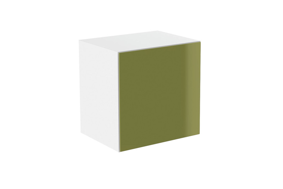 Basic module glass front green