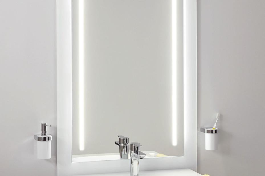 Washbasin module White, washbasin 950.11.121, LED