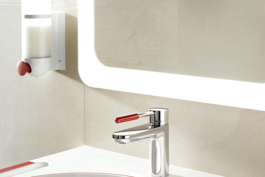 Single lever washbasin mixer tap AQ 800 K