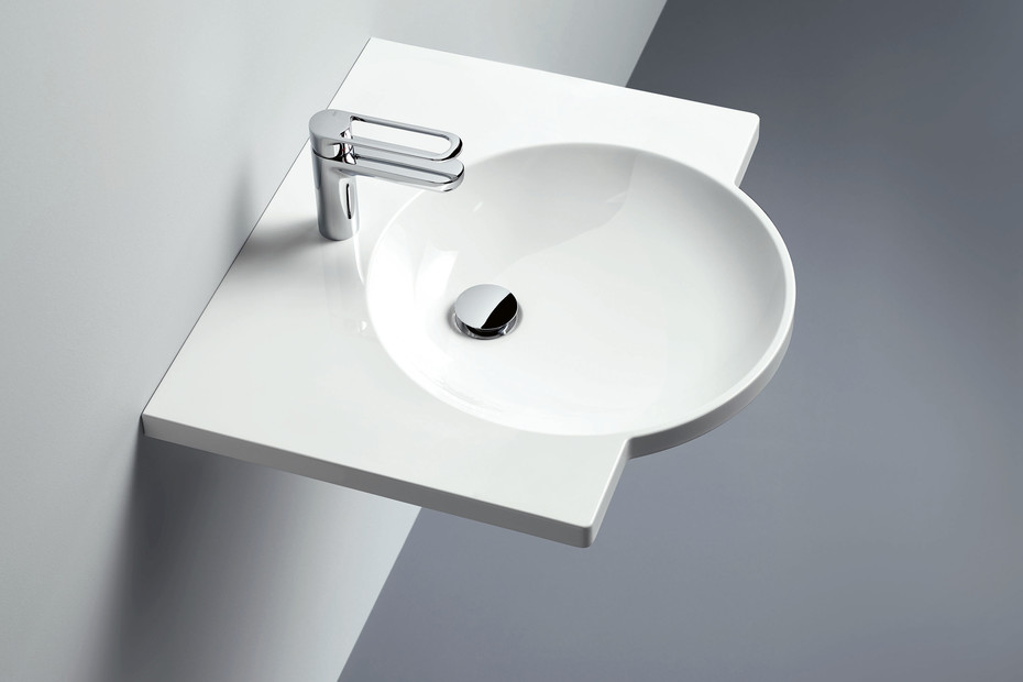 Washbasin 450 mm wide