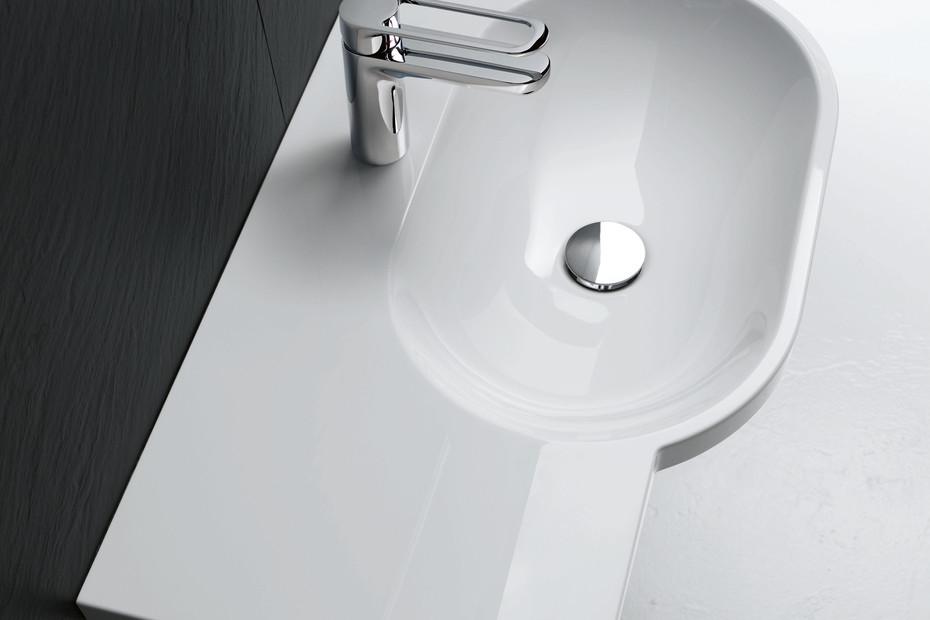 Waschtisch 850 mm breit