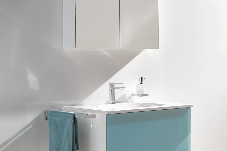 Mirror cabinet  650 mm wide, 650 mm high and 157 mm deep