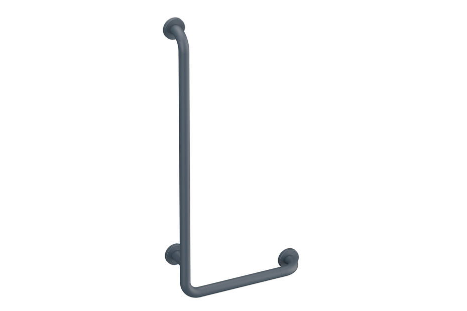 L-shaped support rail