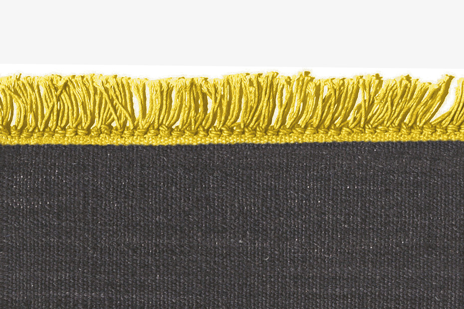 Vintage Cross Coloured Fringes