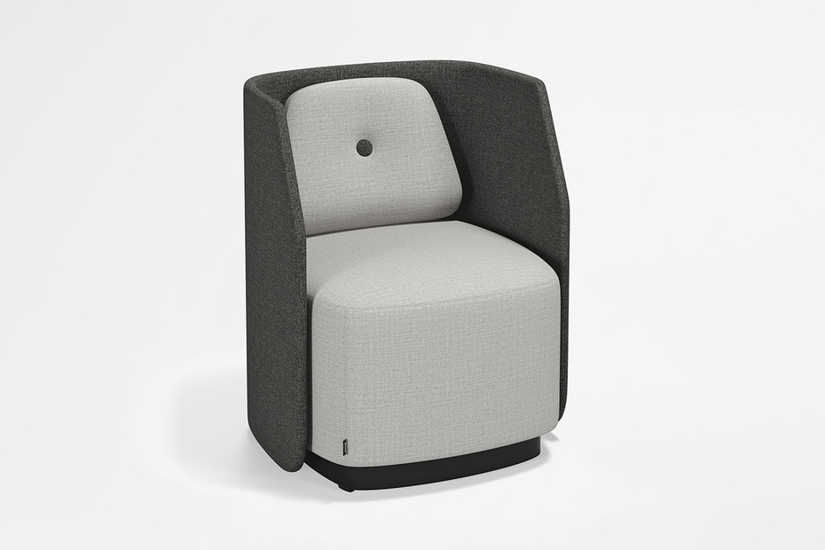 Fields easy chair/sofa with low back