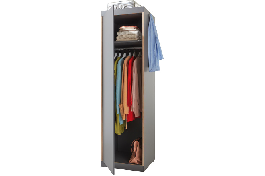 Flai single door wardrobe