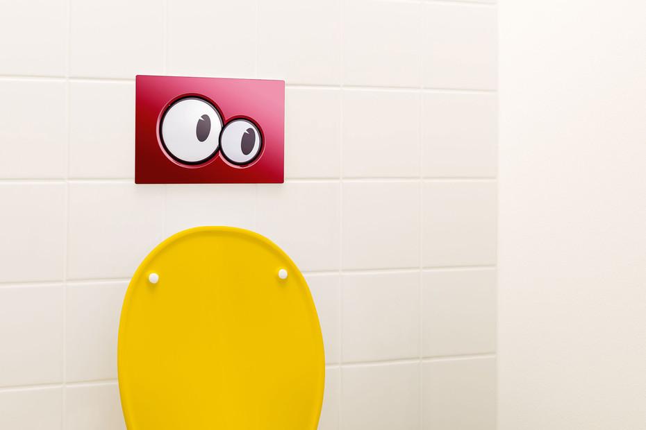 Geberit Bambini flush plate