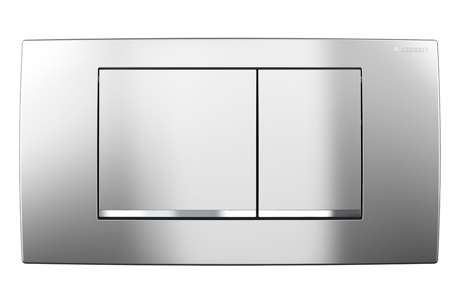 Flush plate Twinline30