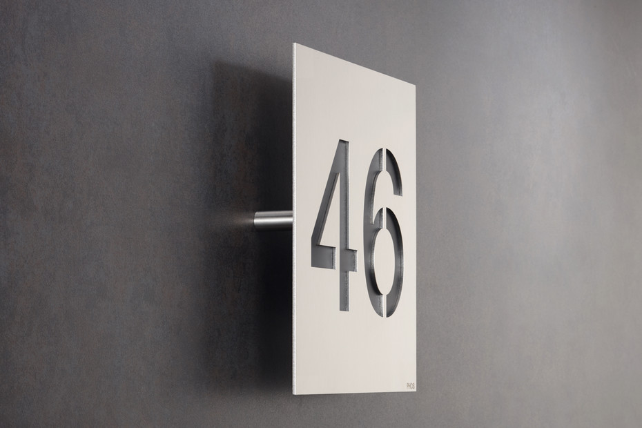 House number HNS160x160