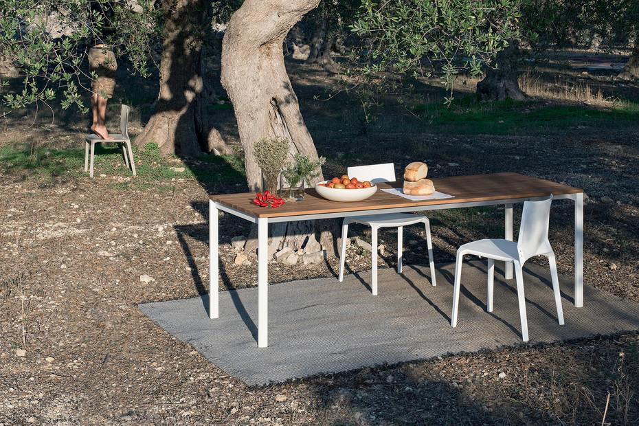 be-Easy slatted Tisch