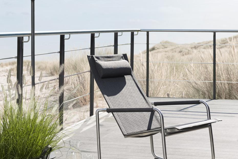 Jardin rocking deck chair