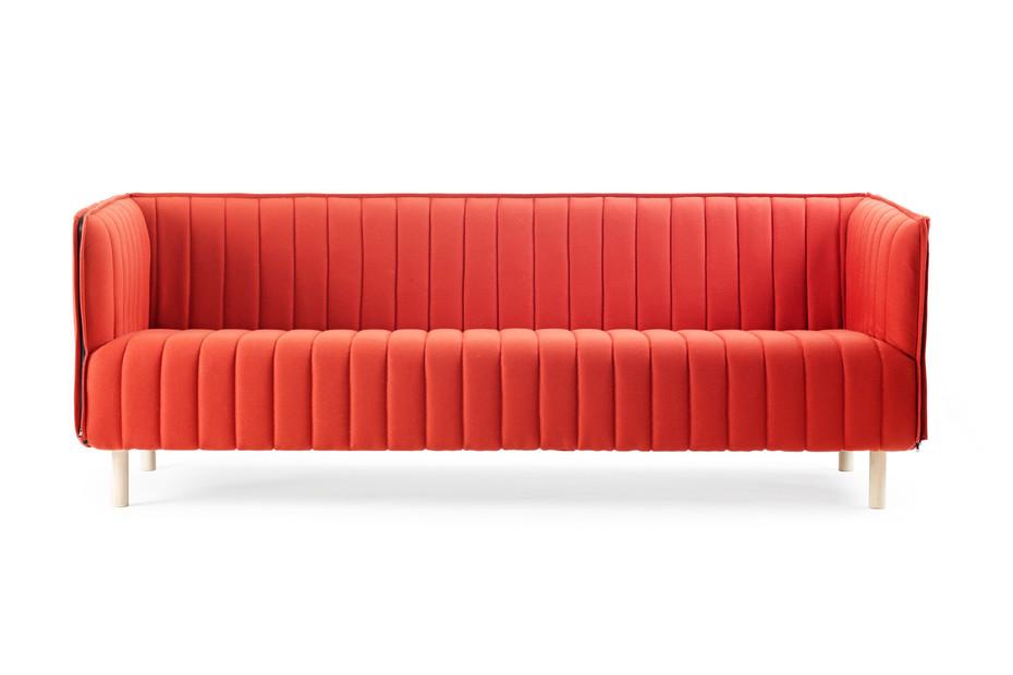 Kvilt sofa