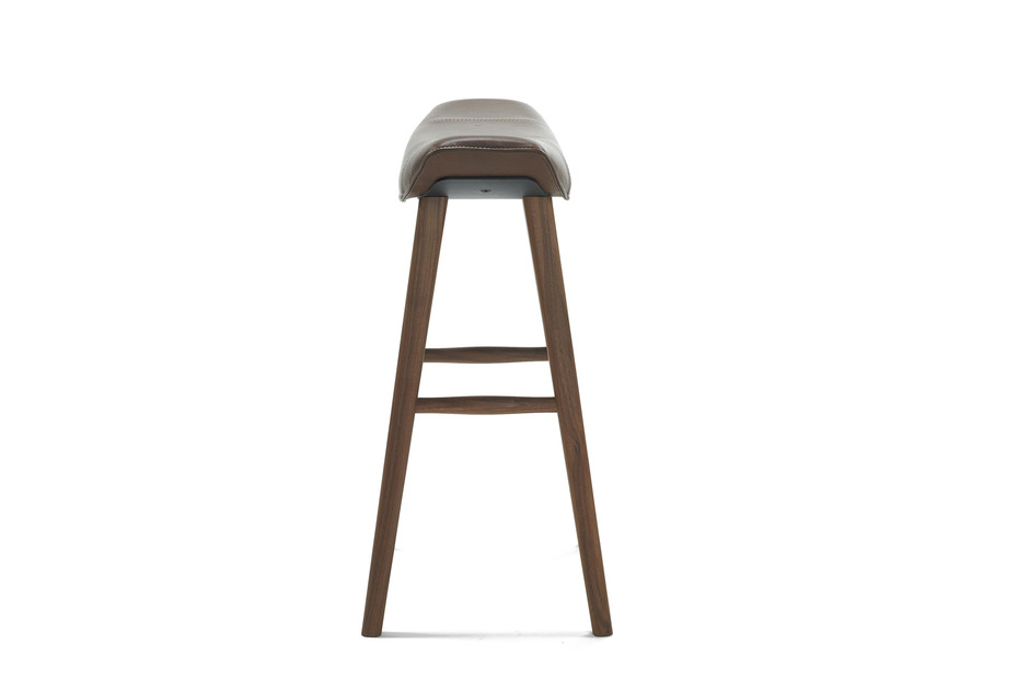 Kya kitchen stool with wooden frame