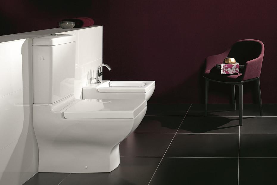 Washdown WC for close-coupled WC-suite La Belle