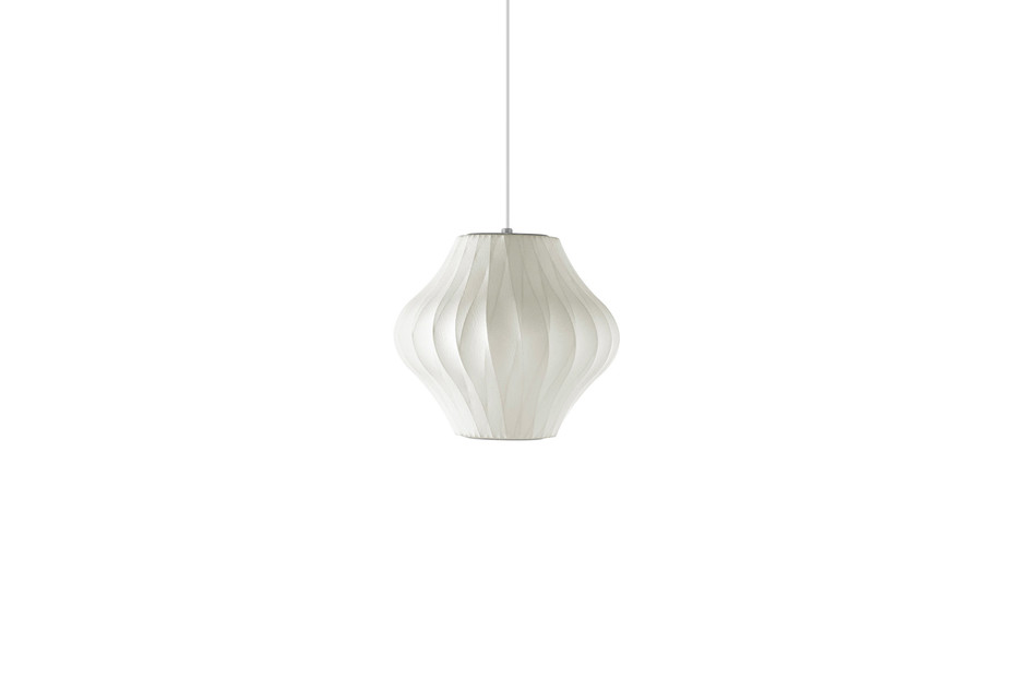 Nelson Pear Crisscross Bubble Pendant Lamp