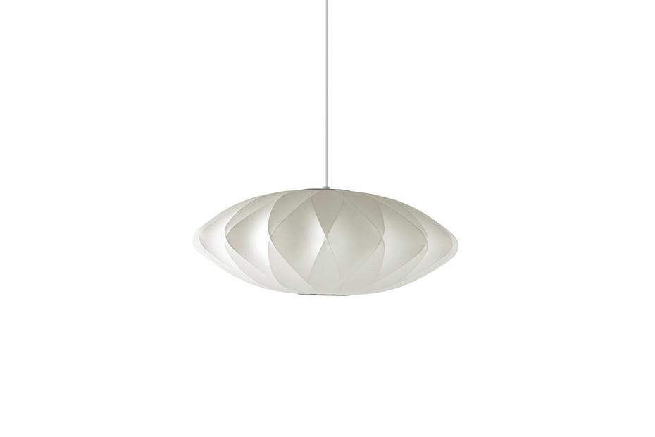 Nelson Saucer Crisscross Bubble Pendant Lamp
