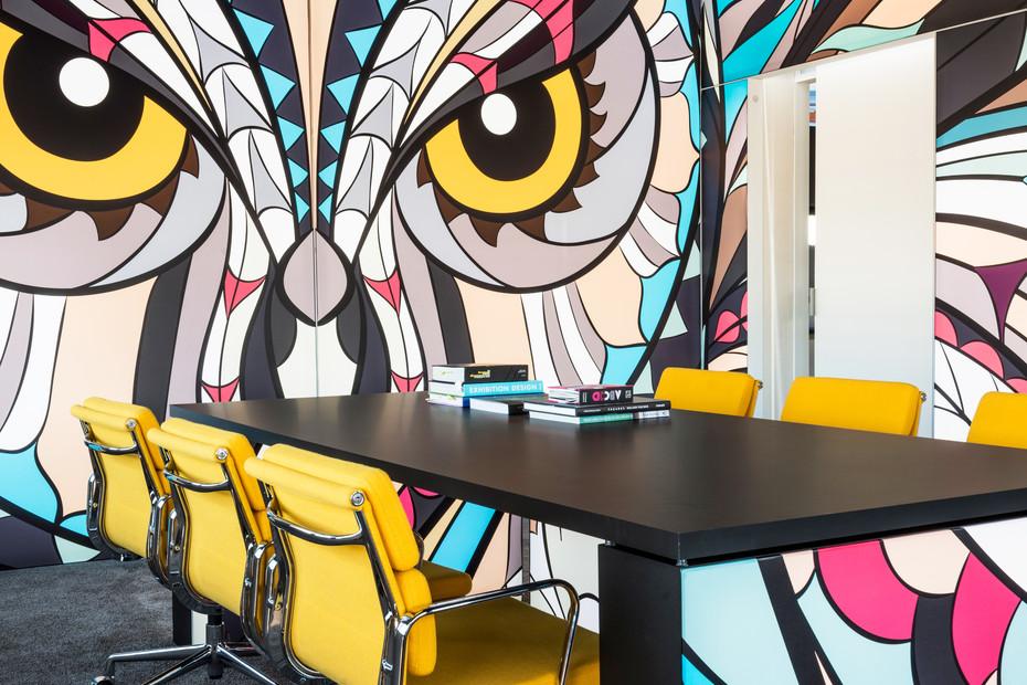 Illuminated desk