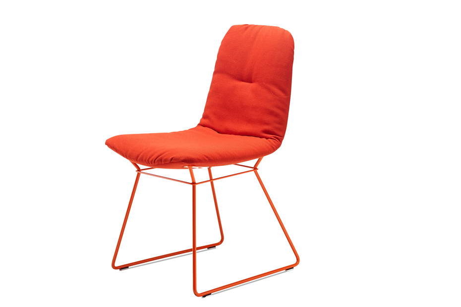 Leya chair with wire frame
