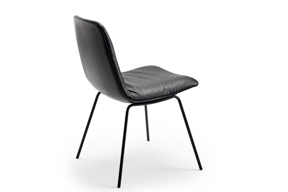 Leya Chair mit Stahlgestell
