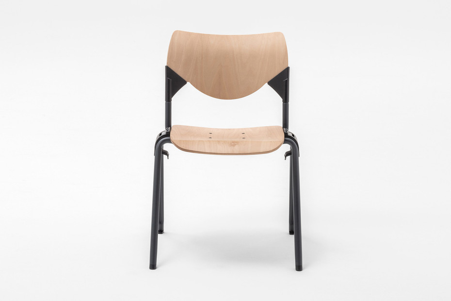 GATE WOOD SQUARE CHAIR