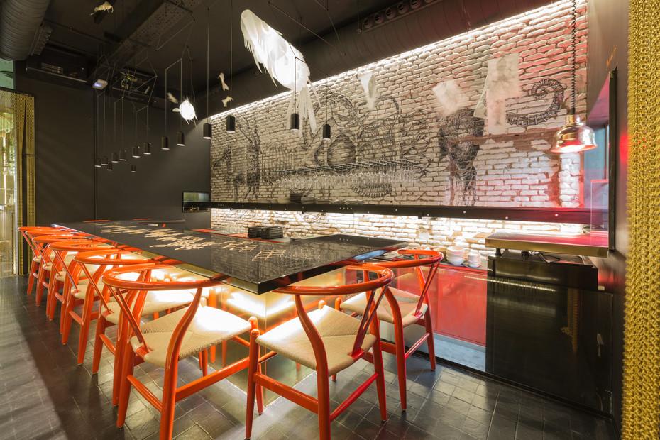 Crudito Restaurant 6901. Black Metal