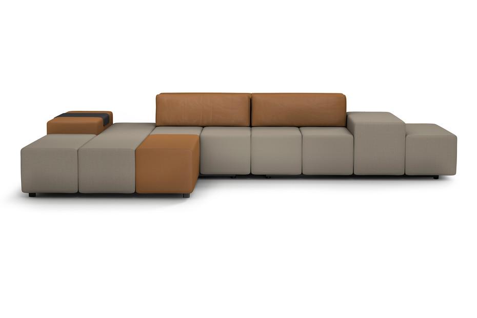 MLQ max Sofa mit Liege