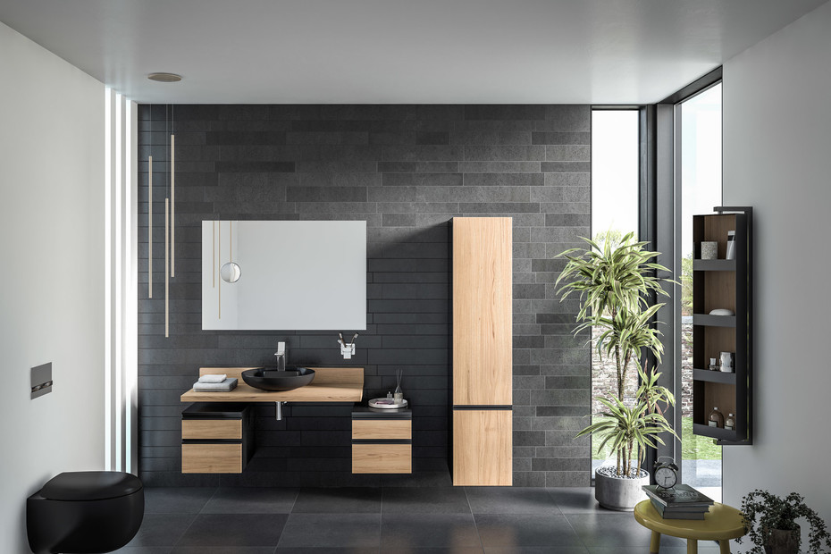 Memoria washbasin vanity unit
