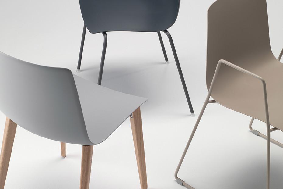 slim chair wood