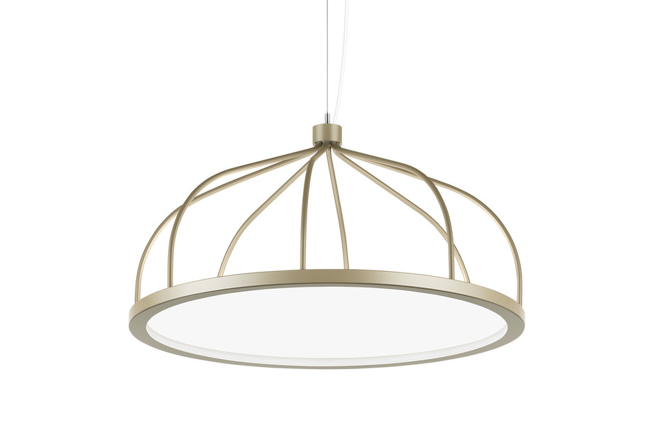 Plane pendant light