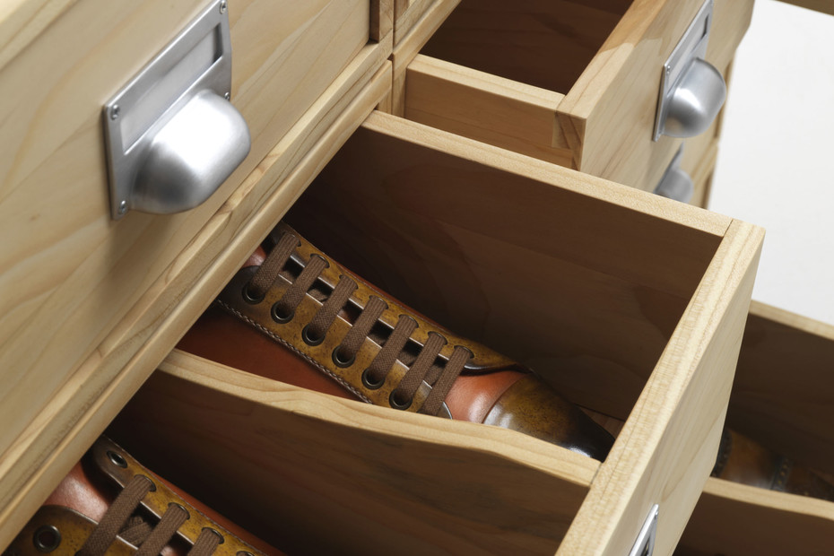 Prospectus shoe rack