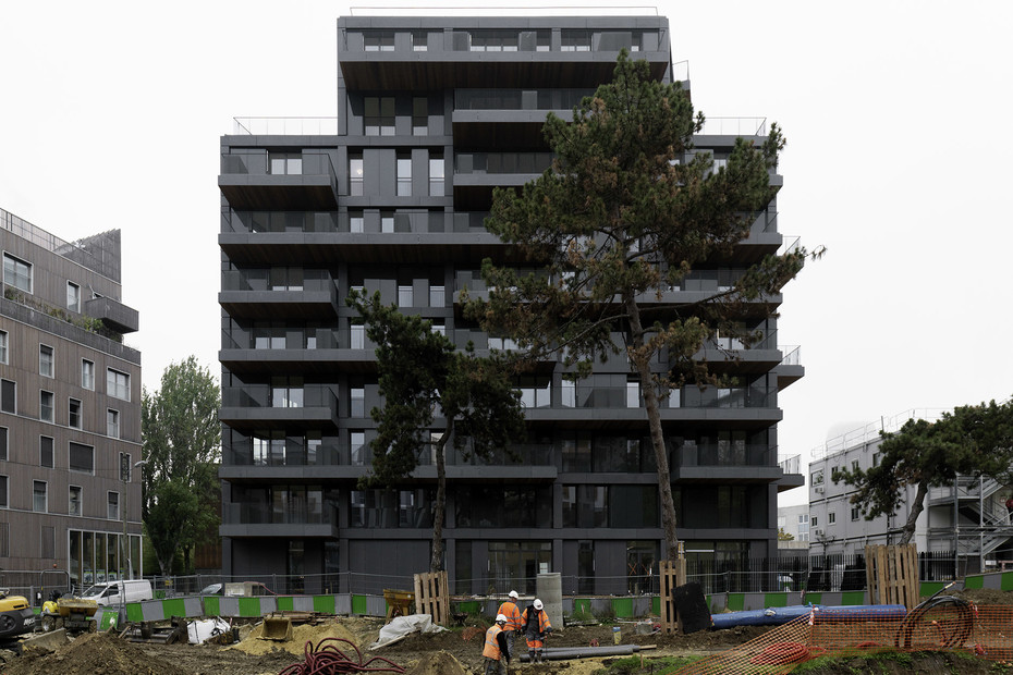 concrete skin & formparts, ZAC Paul Bourget