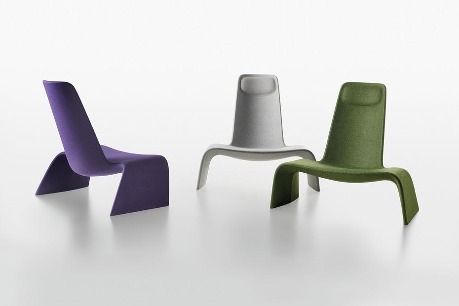 Land Lounge Sessel gepolstert