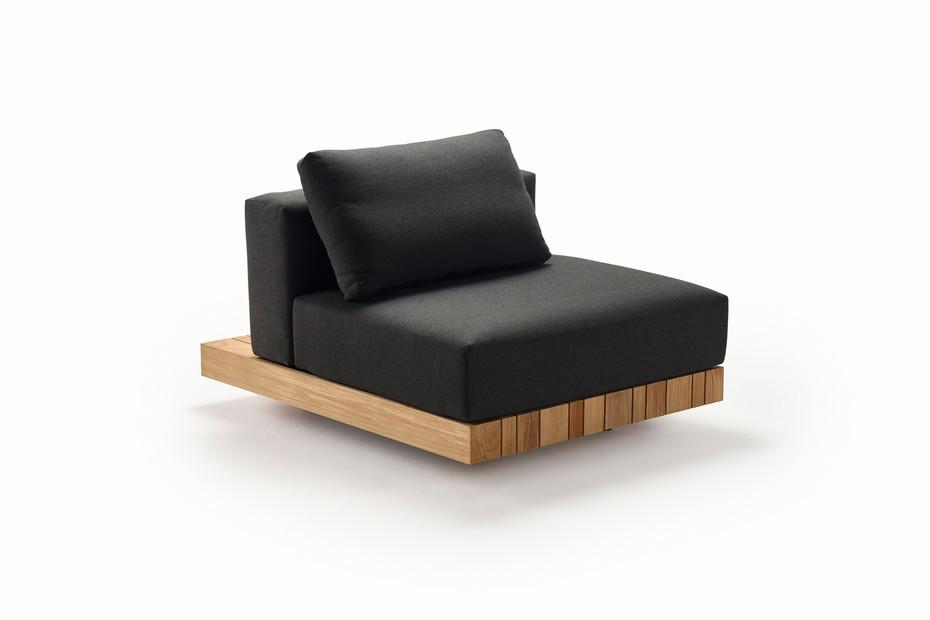 Plateau S-module seat/back
