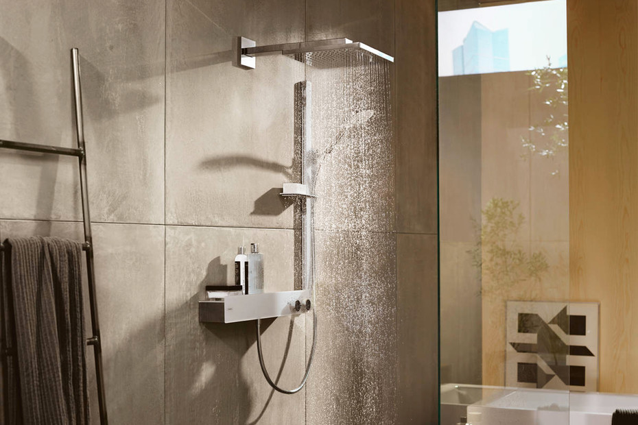 Raindance Select S Shower set 120 3jet with shower bar 90 cm and soap dish