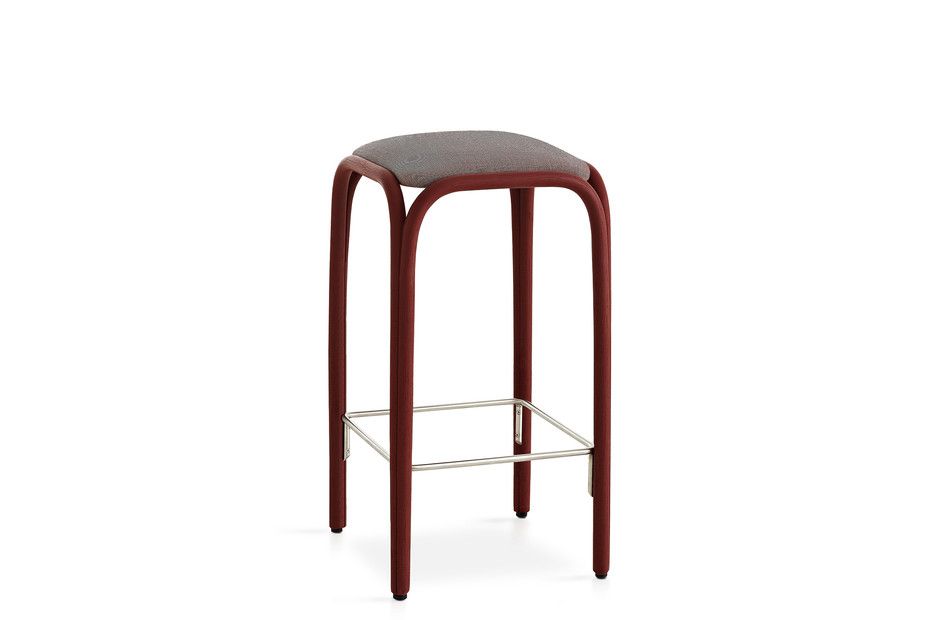 Fontal upholstered high barstool T019 U