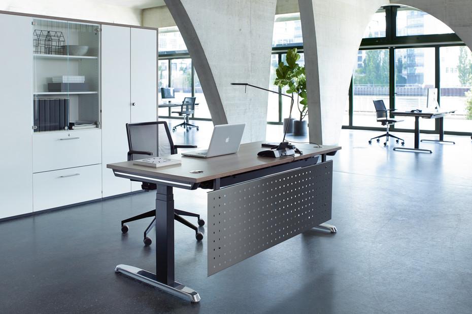 Thales Steh-/Sitztisch Profi