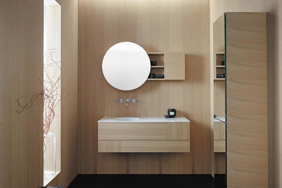 Coco Spiegelschrank mit indirekter LED-Beleuchtung und Lichttemperatur-Steuerung