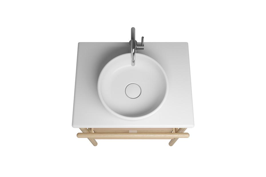 MYA ceramic washbasin incl. vanity unit and 1 drawer
