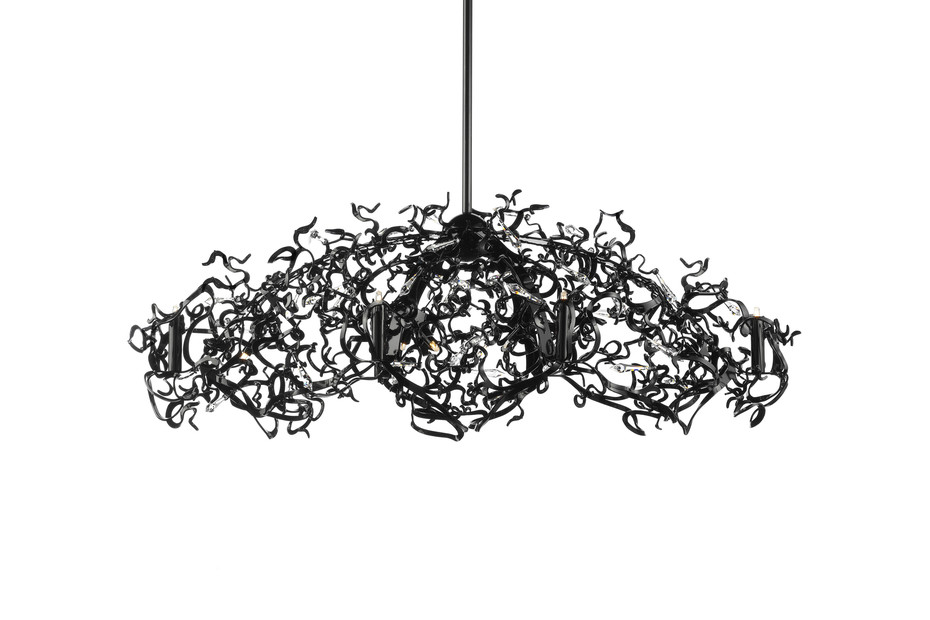Icy Lady Chandelier Oval