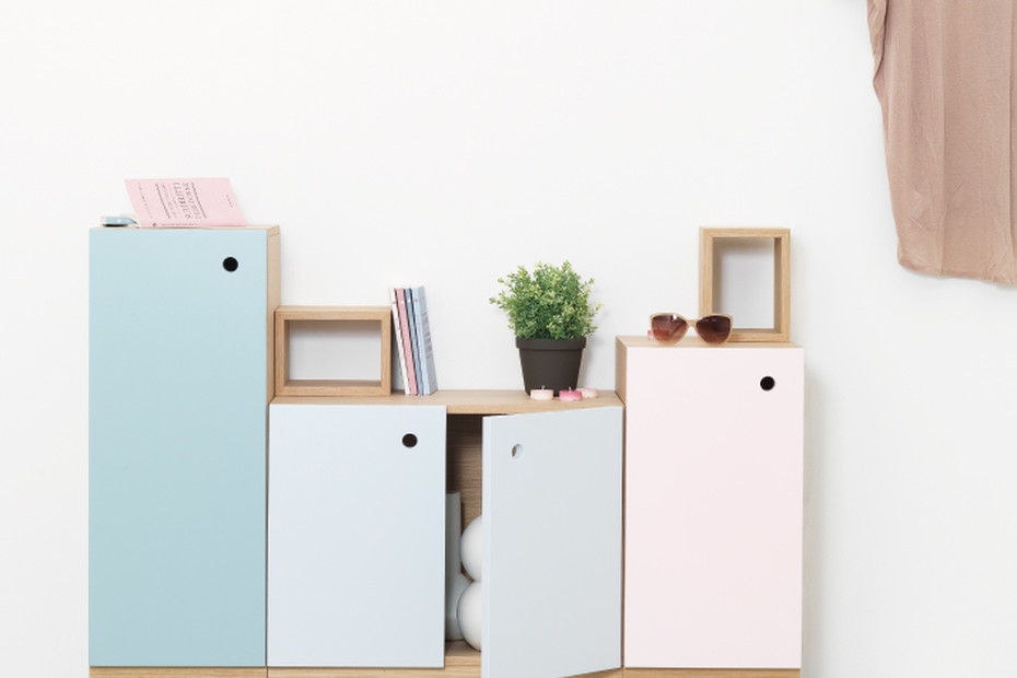 Collage Cabinet 2